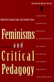 Cover of: Feminisms and critical pedagogy |