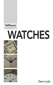 Cover of: Watches | Dean Judy