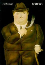Cover of: Botero 1980