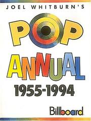 Cover of: Pop Singles Annual 1955-1994
