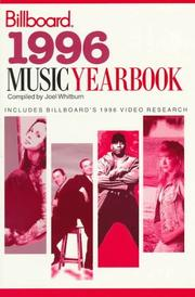 Cover of: 1996 Music Yearbook (Billboard's Music Yearbook)