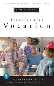 Cover of: Transforming Vocation (Transformations)