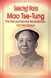 Cover of: Selected Works of Mao Tse-Tung