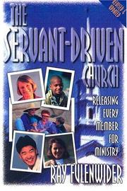 Cover of: The Servant-Driven Chruch
