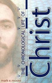 Cover of: The chronological life of Christ