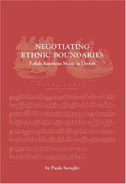 Cover of: Negotiating Ethnic Boundaries | Paula Savaglio