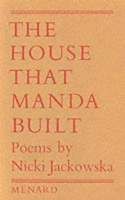 Cover of: The House That Manda Built