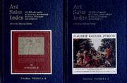 Cover of: The Art Sales Index 1994/95 (Art Sales Index)