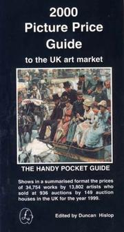 Cover of: Picture Price Guide