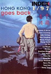 Cover of: Hong Kong Goes Back (Index on Censorship)