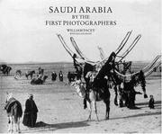 Cover of: Saudi Arabia by the First Photographers