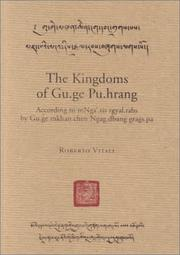 Cover of: The kingdoms of Gu-ge Pu-hrang