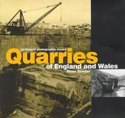 Cover of: Quarries of England and Wales
