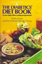 Cover of: Diabetics' Diet Book (Positive Health Guide)