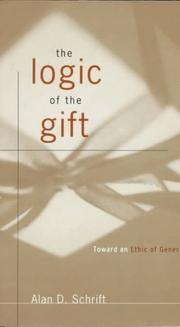 Cover of: The Logic of the Gift