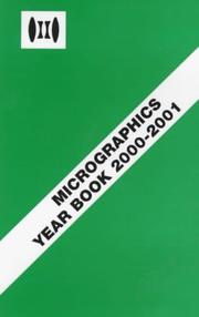 Cover of: Micrographics Year Book