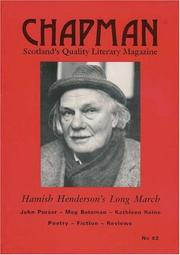 Cover of: Hamish Henderson's Long March (Chapman Magazine)