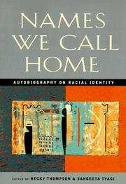 Cover of: Names We Call Home