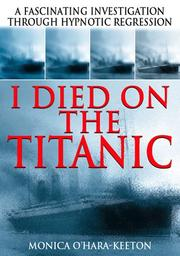Cover of: I Died on the Titanic