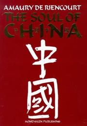 Cover of: The soul of China