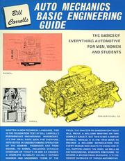 Cover of: Auto Mechanics Basic Engineering Guide