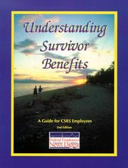 Cover of: Understanding Survivor Benefits, CSRS | Federal Employees News Digest Staff