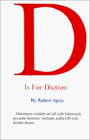 Cover of: D Is For Diction