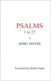Cover of: Psalms 1 to 27