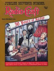 Cover of: Radio-Craft: 50 Years of Radio: March 1938 (Jubilee Souvenir Number 9, Vol 9)