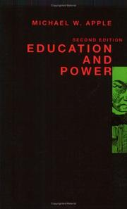Cover of: Education and power