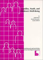 Cover of: Families, Youth, and Children