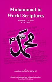 Muhammad in World Scriptures by Maulana Abdul Haq Vidyarthi