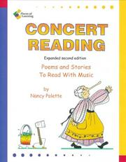 Cover of: Poems and Stories to Read With Music: Concert Reading