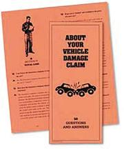 Cover of: About Your Vehicle Damage Claim