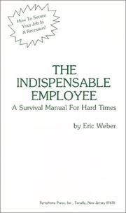 Cover of: Indispensable Employee