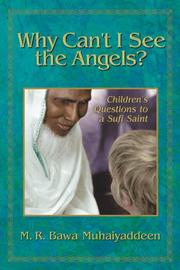 Cover of: Why Can't I See the Angels: Children's Questions to a Sufi Saint