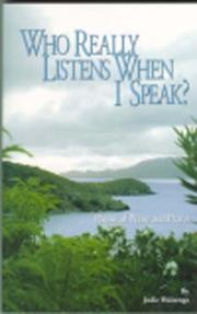 Cover of: Who Really Listens When I Speak? | Jodi Huizenga
