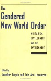 Cover of: The Gendered New World Order