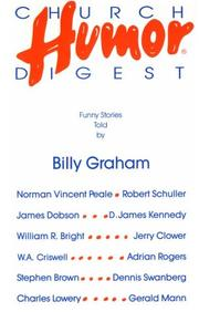 Cover of: Church Humor Digest by Graham, Billy