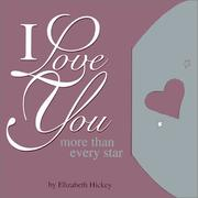 Cover of: I Love You More Than Every Star