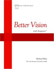 Cover of: Better Vision with Acugenics | Michael Blate
