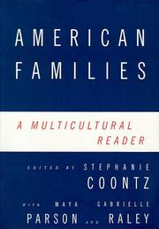 Cover of: American Families