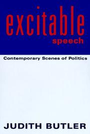 Cover of: Excitable speech