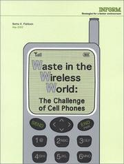 Cover of: Waste in the Wireless World | Bette K. Fishbein
