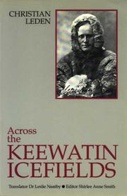 Cover of: Across the Keewatin Icefields