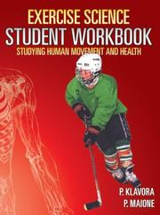 Cover of: Exercise Science Student Workbook