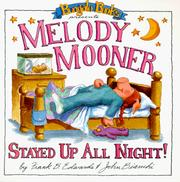 Melody Mooner Stayed Up All Night! (Bungalo Books)