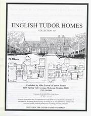Cover of: English Tudor Homes Collection A9