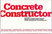 Cover of: Concrete Constructor Handbook