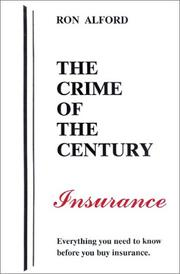 Cover of: The Crime of the Century - Insurance
